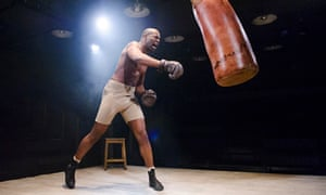 Fighting spirit … Nicholas Pinnock in The Royale, at Bush theatre.