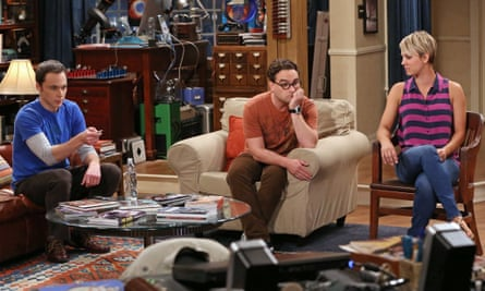 Some sitcoms deserve a second chance … Jim Parsons, Johnny Galecki and Kaley Cuoco-Sweeting in The Big Bang Theory.
