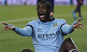 Manchester City's Yaya Touré