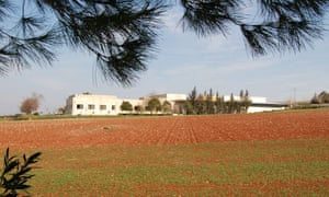 A file photo of the ICARDA genebank near Allepo in the Syrian Arab Republic taken from a distance.