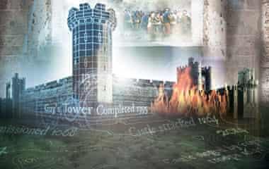 Warwick castle time tower