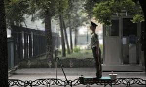 North Korean embassy in Beijing