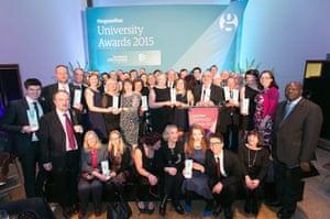 Guardian University Awards 2015