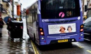 A bus in Bristol