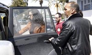 Spanish tourists Cristina Rubio and Juan Carlos Sanchez were inside the museum when gunmen opened fire
