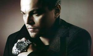 Leonardo DiCaprio advertising Tag Heuer