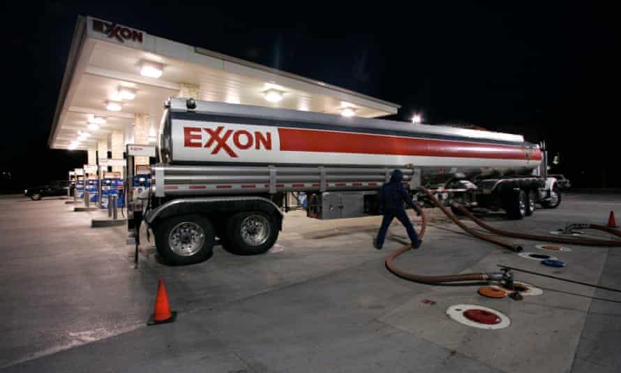 exxon truck