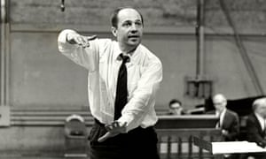 Boulez conducting the Rite of Spring in 1963