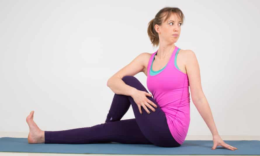 The seated twist.