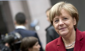 The German chancellor, Angela Merkel. Some say she has in some ways been firmer than her predecessors, but that is also possible because of the strength of the German economy.