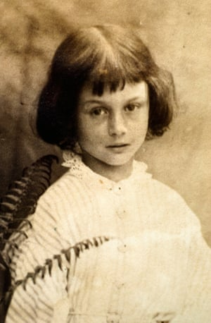Alice Pleasance Liddell, daughter of the Dean of Christ Church, Oxford.