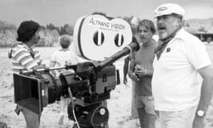 Altman on set