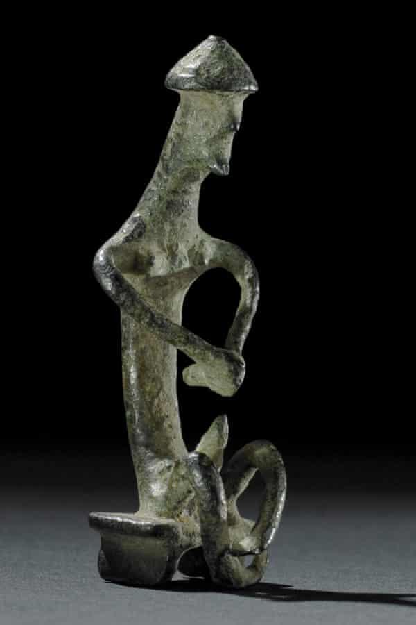 Bronze statuette of Ajax. Greece, 720-700BC