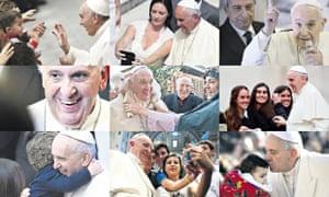 Pope photomontage