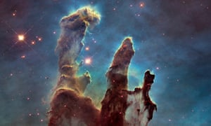 Spacex launches images into public domain science the guardian the eagle nebula taken by the hubble space telescope in 2014 voltagebd Gallery