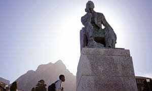 Cecil John Rhodes statue Cape Town