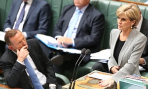 """Foreign Minister Julie Bishop announces declaration of Mosul as a """"designated area"""" during question time."""