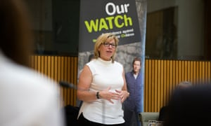 Australian of the Year Rosie Batty speaking to MPs.