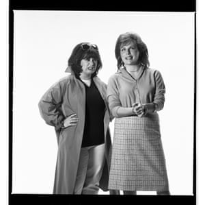 Dawn French and Jennifer Saunders.