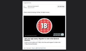 Electoral Commission ad campaign