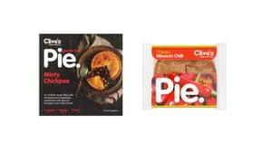 Clives vegetarian pies
