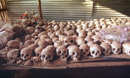 An estimated 800,000 Rwandan people were killed in just 100 days in the 1994 genocide