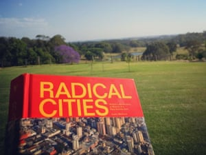 Radical Cities book in field