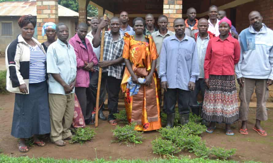 Some of the farmers who were evicted from their land.JPG Kalangala district, Uganda.JPG