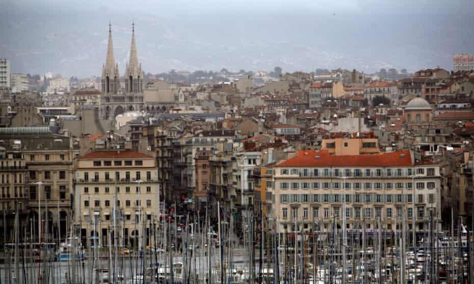 Marseille Harbour, France.