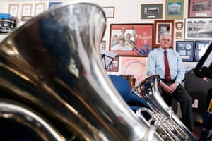 Peter Haig, trustee, Grimethorpe Colliery Band.