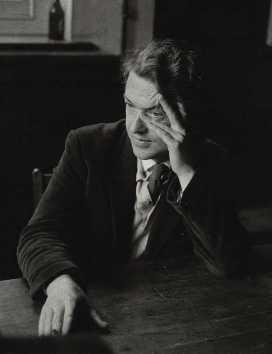 Kingsley Amis in Neath, south Wales, in 1959.