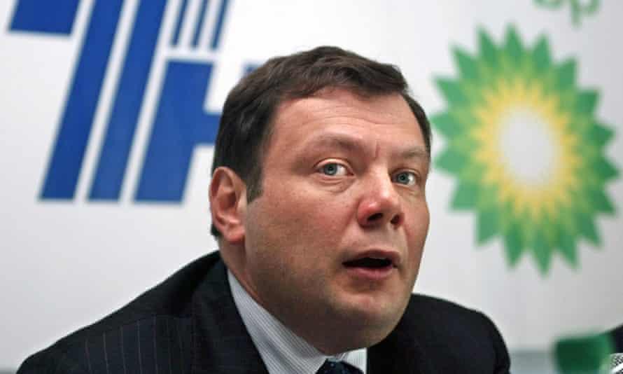 Russian oil oligarch Mikhail Fridman