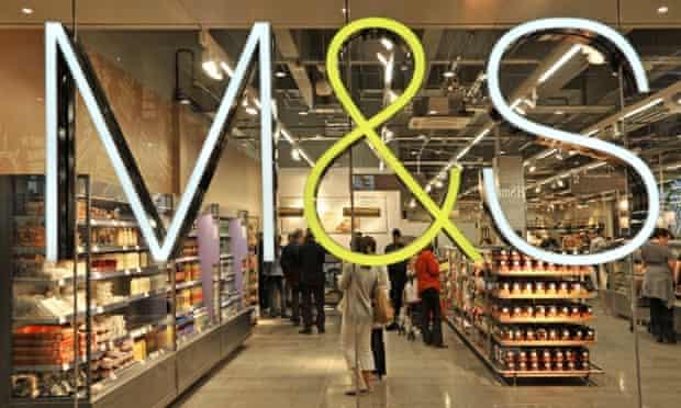 Marks & Spencer storefront