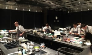 James Young took a tour of the kitchen at the Fat Duck.