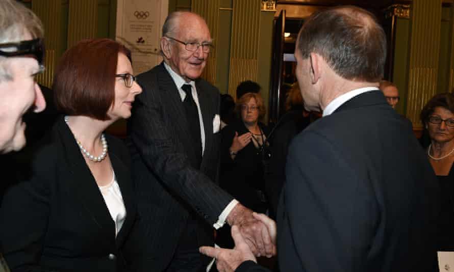 Malcolm Fraser and Tony Abbott