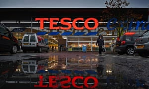 Tesco extra store in Scotland.