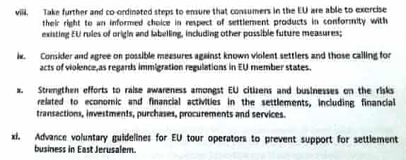 Some of the recommendations in the EU report
