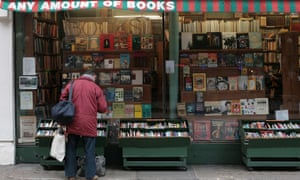 Any Amount of Books on Charing Cross Road. 'The only businesses thriving now are bars and restaurants … the capital will soon cease to be an interesting place to live.'