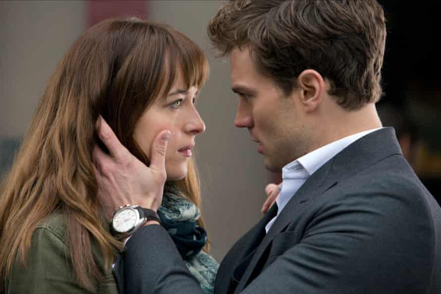 Dakota Johnson & Jamie Dornan in Fifty Shades Of Grey