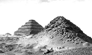 Stepped pyramid, Djoser.