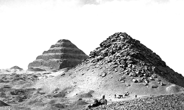Egypt's 4,600-year-old pyramid of Zoser: a history of cities