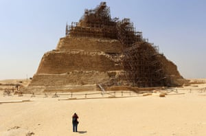 The company tasked with preserving the pyramid of Zoser was instead recently accused of ruining it.