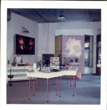 Maripolitan gallery store 1984, by Maripol