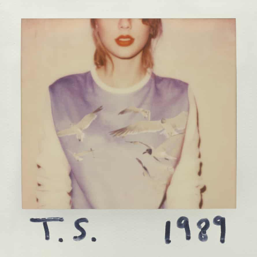 Taylor Swift's 1989 cover, influenced by Maripol's work