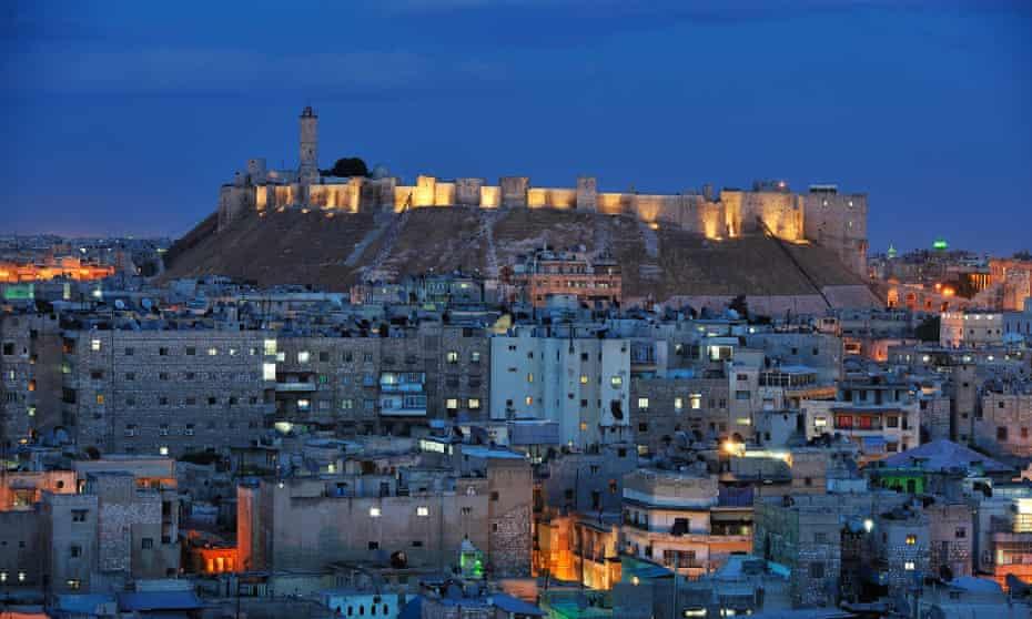 Aleppo's citadel in 2008.