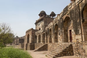 'A shambling sixteenth century stone fort near the eastern edge of the city... a particularly good place from where to tell the story of Delhi's urban development'.
