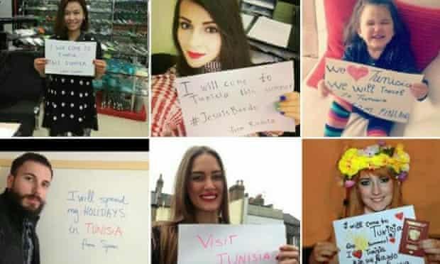 People around the world pledge to visit Tunisia this summer