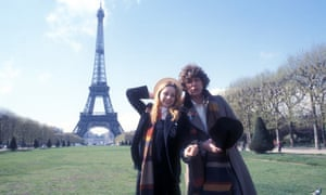 Paris in Who time … Tom Baker as the Doctor and Lalla Ward as Romana in the 1978 adventure The City of Death.