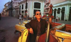 Double-bassist Orlando 'Cachaito' Lopez in 1998