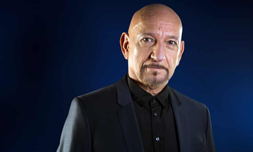 'When my sons come off stage, I crush their ribs' ... Ben Kingsley. Photograph: Richard Saker for th